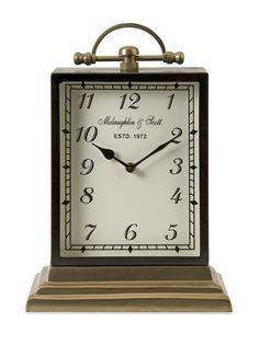 "Ford Oversized Desk Clock 14.5""""h x 10.25""""w x 6"""""