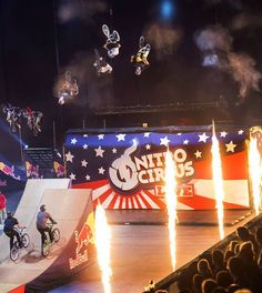 See the insanity of Travis Pastrana's Nitro Circus | dirt bike | off-road | motorcycles