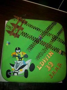 Bday cake quad rider