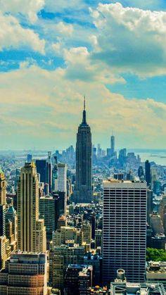 Des touristes à New York