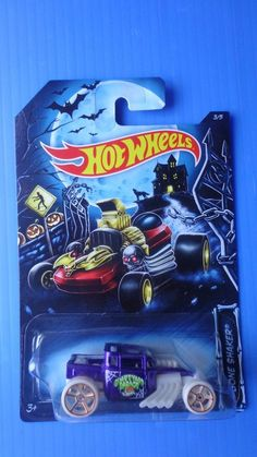 2014 Hot Wheels Bone Shaker Halloween Pr 5  !!! #HotWheels #boneshaker