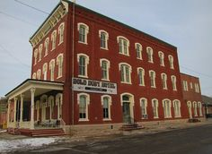 The Gold Dust Hotel opened in Fredonia, Kansas in 1885. It is listed  on the National Register of Historic Places.