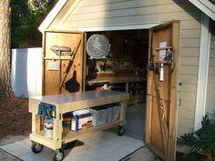 shed turned workshop