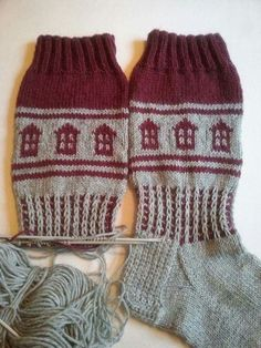 Knitted socks novita 7 veljestä – Artofit Knitting Socks, Hand Knitting, Knitting Patterns, Knit Socks, Knitted Slippers, Slipper Socks, Dream Catcher Boho, Colorful Socks, Leg Warmers