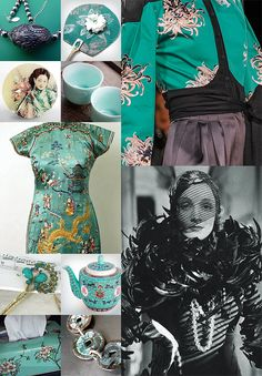 We were inspired by Marlene Dietrich's Shanghai Lily to select a few items that channel Old Hollywood glamour touched by its fascination with the Orient.