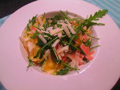 Verse pasta met zalm - in 10 minuten op tafel