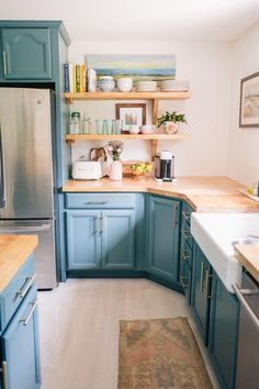 Our Kitchen: A Year Later   Jess Ann Kirby