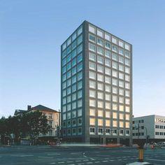 max dudler architekt hotel und b rohaus friedrichstra e. Black Bedroom Furniture Sets. Home Design Ideas