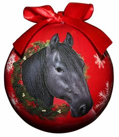 Christmas Ornament Sorrel Chestnut Horse Personalized with your