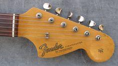 Fender headstock stratocaster 1966