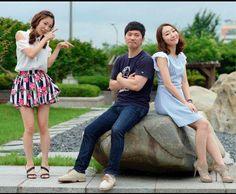 "The cast in the GagConcert show ""Badump Badump"" which means in Korean, ""Heartbeat."""