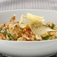 Creamy Chicken and Sundried Tomato Risotto  #PerfectItaliano #Recipe  #myfoodbook