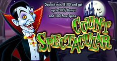 100 #FREESPINS ON #COUNTSPECTACULARSLOTS @ #SILVERSANDS & #JACKPOTCASH  Silver Sands ZAR, EUR & Jackpot Cash Casino are running a special promotion on the popular slot Count Spectacular. Enjoy Silver Sands Casino & Jackpot Cash Casino via the Download, Instant Play or Mobile versions. These bonuses are available to new and existing players and valid until the 29th of February 2016  PLAY NOW AT SILVER SANDS ONLINE CASINO - http://www.free-casinos.co.za/goto/silver-sands-casino.php