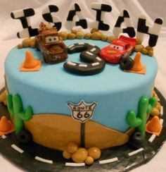 cars cake!