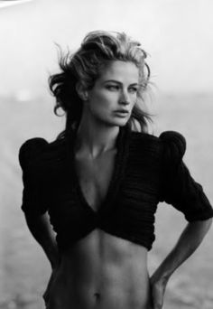Carolyn Murphy by Peter Lindbergh, 2006.