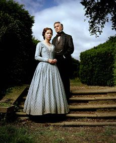 "Masterpiece Theater's ""Bleak House"" - a sad, dark, Dickens tale, but wonderful miniseries. Elinor and Mr. Jarndyce"