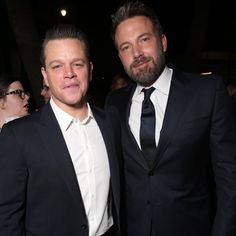 Matt Damon and Ben Affleck Reunite in LA Ahead of the Premiere of Their New Show