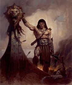 Conan by Brom Comic Art