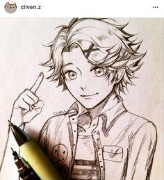 Yoosung by Cliven.z i cry Mystic Messenger Yoosung, Yoosung Kim, Saeran, Amazing Drawings, Cool Sketches, Fan Art, Manga, Ouat, Drawing Ideas