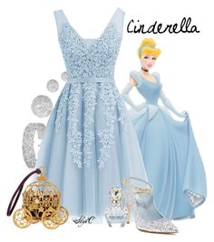 Cinderella - Disney by rubytyra featuring stiletto shoes Princess Inspired Outfits, Disney Princess Costumes, Disney Inspired Fashion, Princess Outfits, Girl Outfits, Fashion Outfits, Cute Disney Outfits, Disney Themed Outfits, Disney Bound Outfits