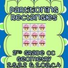 Partitioning Rectangles- 2nd Grade CC 2.G.A.2 & 2.OA.C.4  23 Pages  Table of Contents  1. Vocabulary cards- 1 pg. 2. How Many In All?- 3 pgs. 3...