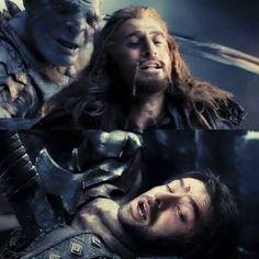 The boys death scene *cries*