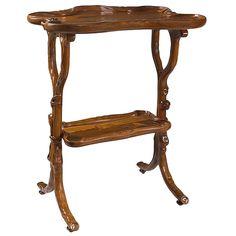 Emile Gallé French Art Nouveau Table