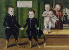 The sons of duke Johann Friedrich II, 1567.
