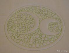 Crop Circle Quilt - WIP