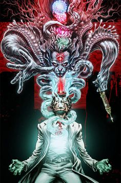 Witch Doctor 2: like Doctor Who for the occult, full of glorious monsters and demons - Boing Boing