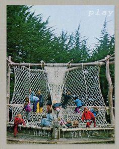 Birds of Ohio: macrame park, 1970s