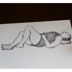 Nankin, draw, old, lady, senhora, desenho, modelo vivo