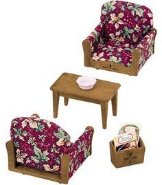 Epoch Sylvanian Families Family Living Room Arm Chair Sofa Set KA 509