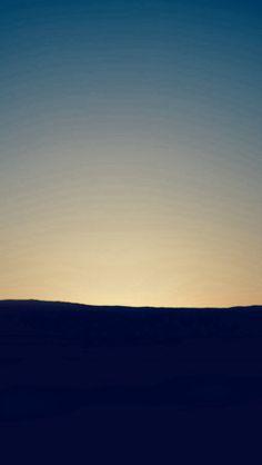 Dawn Sunset Blue Mountain Sky Nature Instagram #iPhone #5s #wallpaper