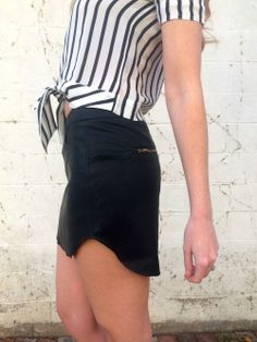 VEGAN LEATHER MINI SKIRT 44.50 FREE SHIPPING