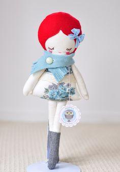 New.....Love LuLu nooshka doll por nooshka en Etsy