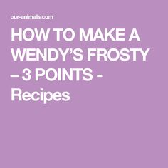 Delicious, low-cal drink I found on a forum for moments when you want chocolate. Our Homemade Wendys Frosty Recipe is the ultimate Weight Watcher Smoothies, Weight Watchers Meal Plans, Weight Watchers Diet, Weight Watchers Chicken, Weight Watchers Desserts, Pina Colada Protein Shake Recipe, Protein Shake Recipes, Protein Smoothies, Fruit Smoothies