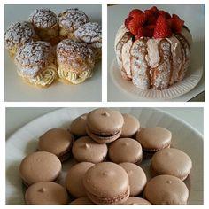 Paris-brest charlotte macarons