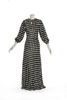 1935 - Lanvin. Silk.