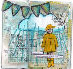 Art Journal - rain