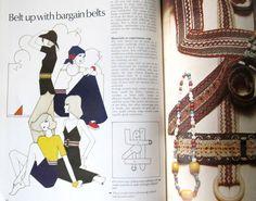 Vintage 1970s Golden Hands Monthly craft magazine