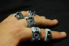 GLaDOS and Personality Core Rings