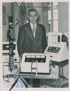 Lucky Luciano as a medical equipment salesman, 1955