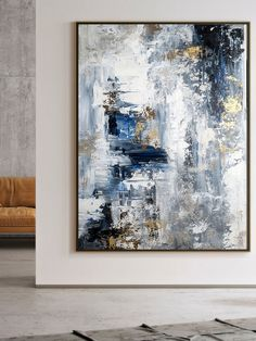 Large Abstract Painting,Modern abstract painting,oil hand painting,office wall art,original abstract,textured art ORIGINAL PAINTING - Unstreatched , 72 Size Options Hallway Art, Office Wall Art, Office Walls, Large Painting, Oil Painting Abstract, Abstract Art, Original Art, Original Paintings, Modern Wall Decor