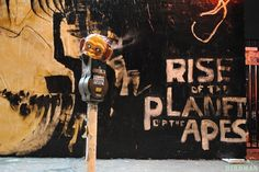 ArtHouse: Rise of the Planet of the Apes - Mural. Photos : Birdman.