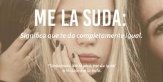 Me la suda. Weird Words, Rare Words, New Words, Cool Words, Spanish Words, Spanish Language, Spanish Quotes, Latin Language, Words In Different Languages