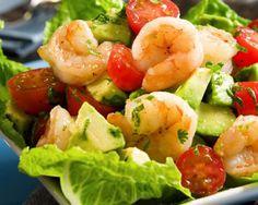 Συνταγή: Σαλάτα με γαρίδες και πατάτες βραστές (Πετρετζίκης) « Συνταγές με κέφι