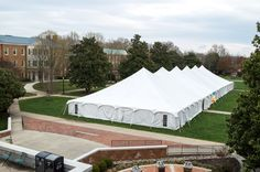 Hauser Rental Special Event 60' X 210' at Wake Forest University.
