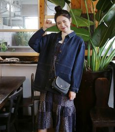 10's trendy style maker 66girls.us! Patch Pocket Denim Jacket (DFWG) #66girls #kstyle #kfashion #koreanfashion #girlsfashion #teenagegirls #fashionablegirls #dailyoutfit #trendylook #globalshopping
