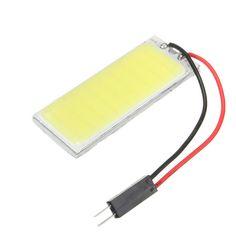 Wholesale 2 Pcs Xenon HID White 36 COB LED Dome Map Light Bulb Car Interior Panel Lamp 12V 5500K -6000K Car-styling ME3L